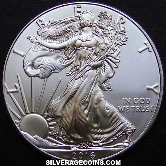 2016 United States Dollar 1 Ounce Silver Eagle