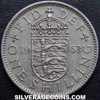 1963 Elizabeth II English Shilling
